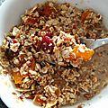 Cuisine: granola gourmand zero sucre