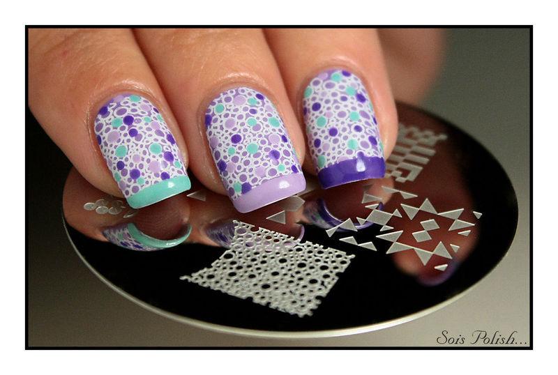 Du stamping pour Sweet Nail Art !