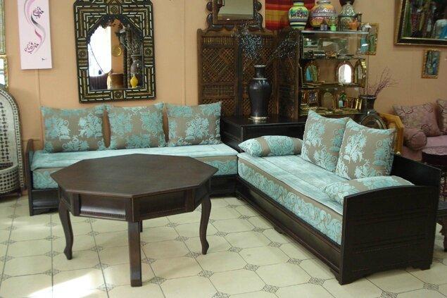 salon du maroc traditionnel magazine en ligne maroc artisanat. Black Bedroom Furniture Sets. Home Design Ideas