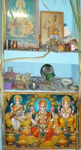 Famille pour diwali