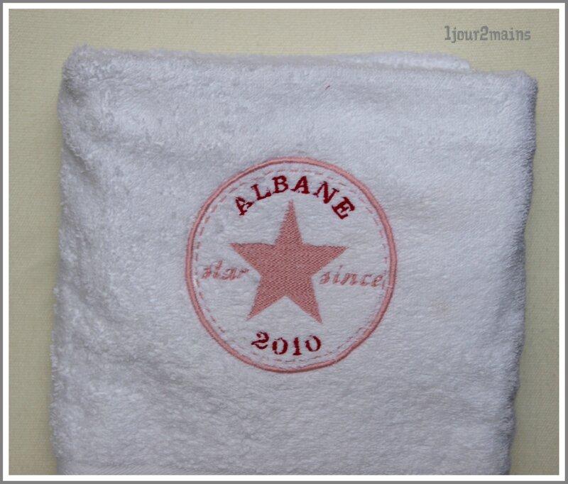 serviette bain Albane