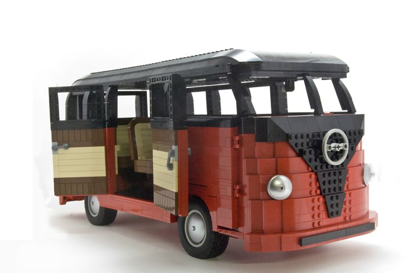 combi lego photo de miniatures i love 39 wagen in toulon. Black Bedroom Furniture Sets. Home Design Ideas
