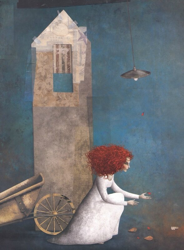Gabriel Pacheco 1973 - Mexican Surrealist Visionary painter - Tutt'Art@ (75)