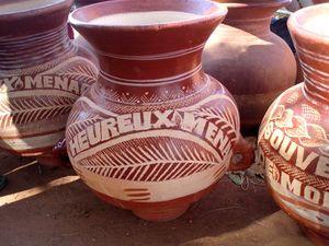 poteries évènementielles MOPTI Mali