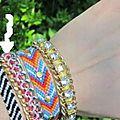 Diy tutoriel bracelet fil et chaîne