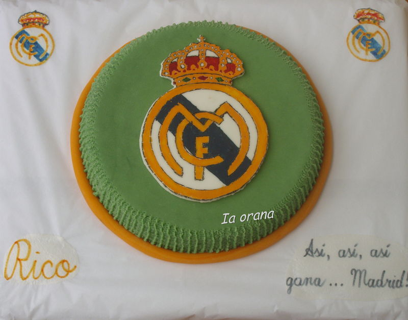 Gâteau Real Madrid/Real Madrid cake
