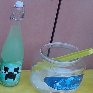 Creeper Juice & Ice Cube