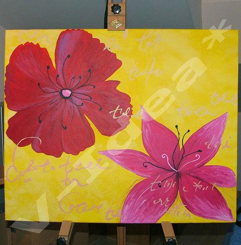 Dyptique Fleurs