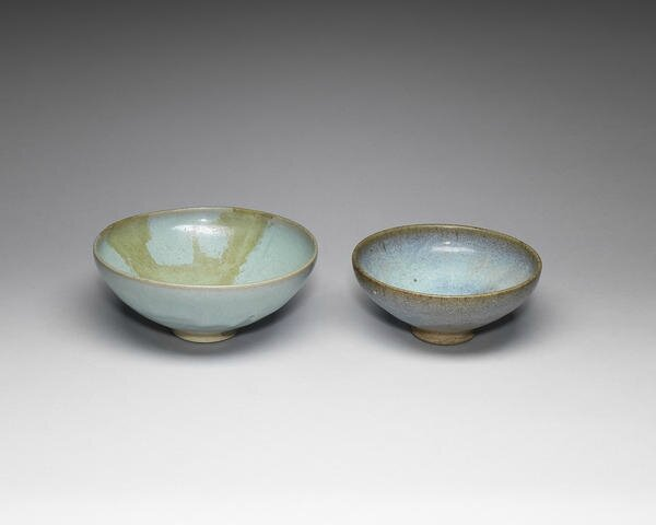 Two Junyao bowls, Song-Yuan Dynasty