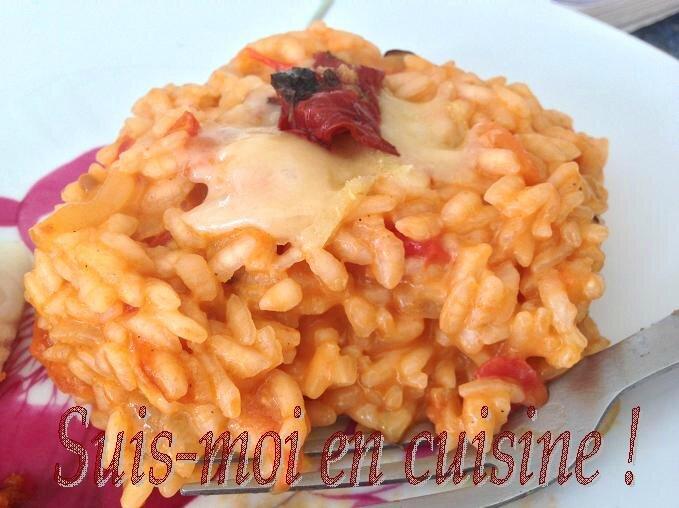 Merlu croûte pancetta et risotto tomate final 2
