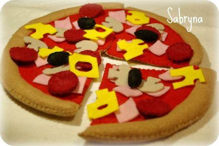 pizza feutrine