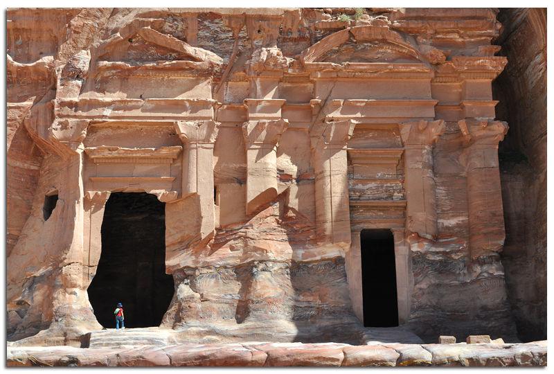 Jordanie_Petra_temple1