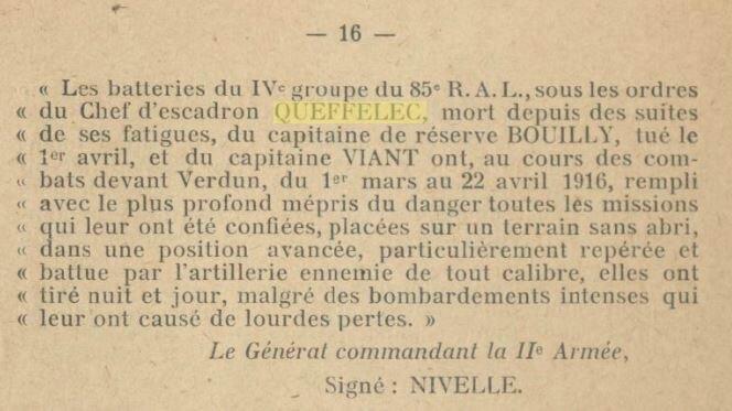 Historique des 85è et 285e rgts artillerie lourde_5