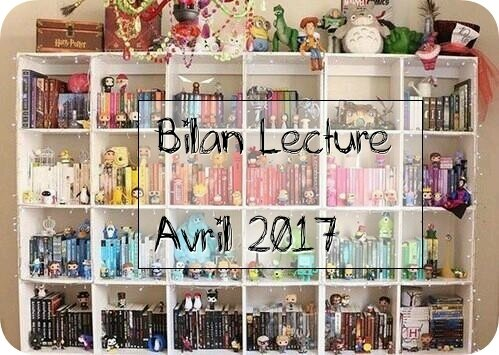 Mes lectures d'avril 2017