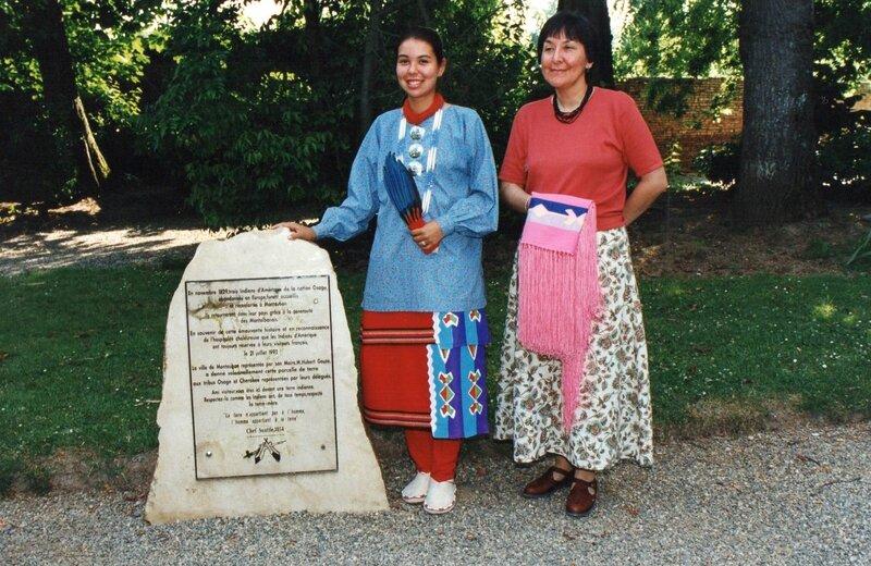 Joyce Shield et Sara - Montauban 1994