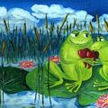 amour de grenouille