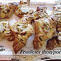 Feuilletés thon/poivron