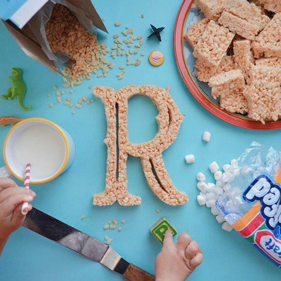 alphabet food R