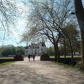 Allée allant au château