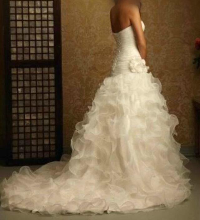 "Robe de mariée ""charmante"" T38 blanche"