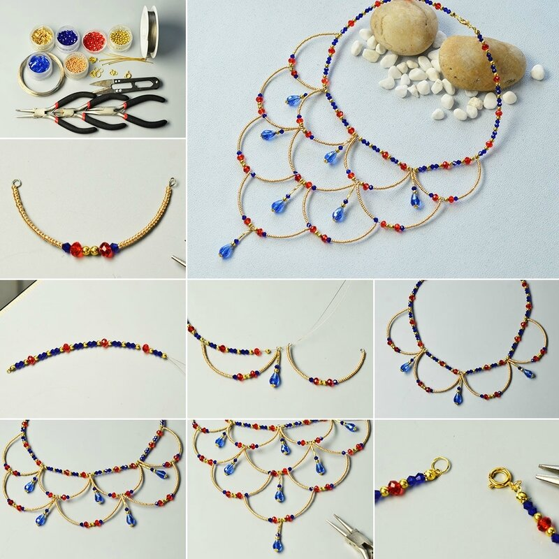 Pandahall-Tutorial---How-to-Make-Vintage-Style-Necklaces-with-Glass-Beads-and-Seed-Beads--600400