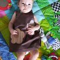 robe anniversaire Lucie