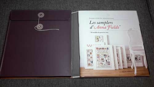 livre de point de croix les samplers d 39 anna fields 1 2 3 flo bricole les gourmandises de flo. Black Bedroom Furniture Sets. Home Design Ideas