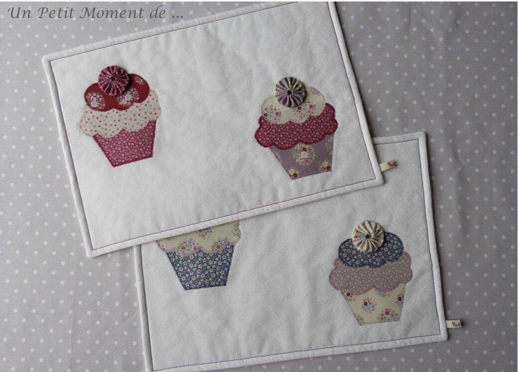 Ensemble de sets cupcakes 6