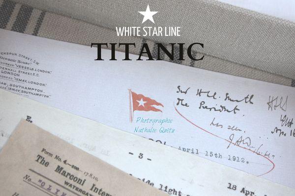 Boîte courriers TITANIC L'ATELIER DE FRAMBOISE CHOCOLAT