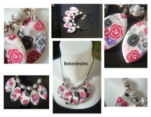 collier fleuri ras du cou _ 20 euros