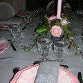 Jolie table pour monsieur pivoine fatigué...