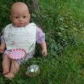 bavette pour poupée