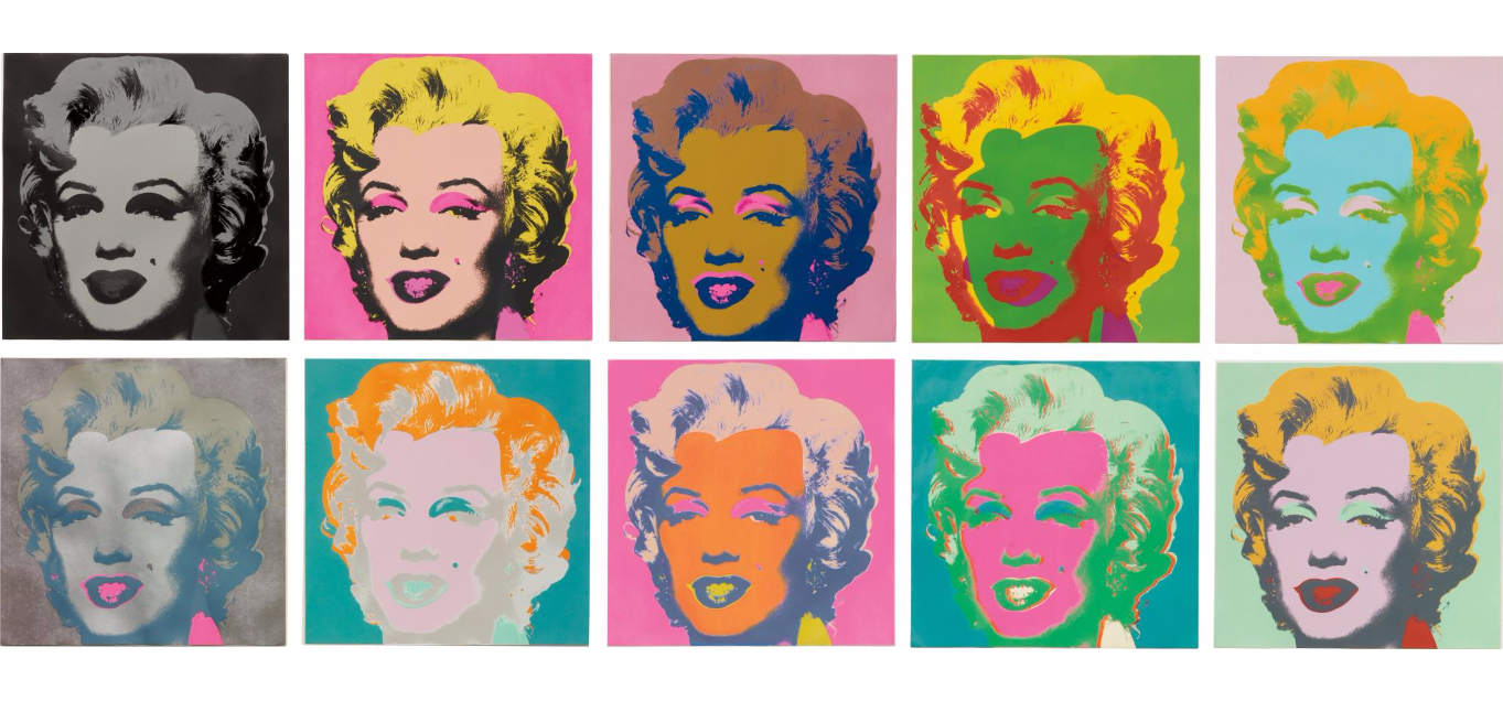 phillips contemporary art auctions include art by ai weiwei marilyn monroe andy warhol