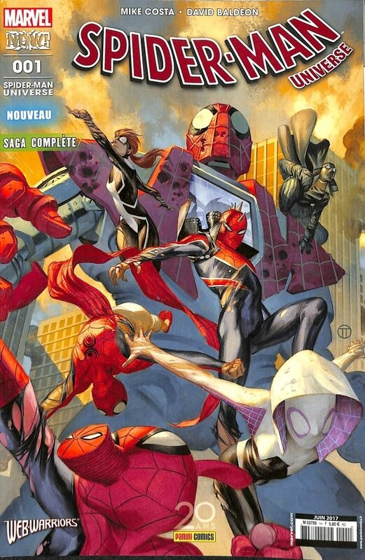spiderman universe V3 01 webwarriors