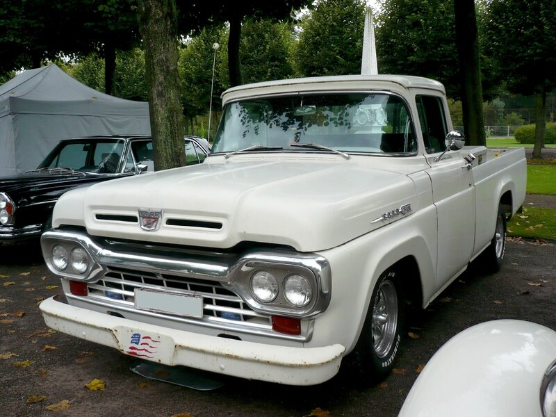 FORD F-100 Custom Cab 2door pick-up Schwetzingen (1)