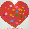 Coeur et gommette 15 avril 2013 Eva