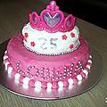 Mon premier gâteau en pâte a sucre