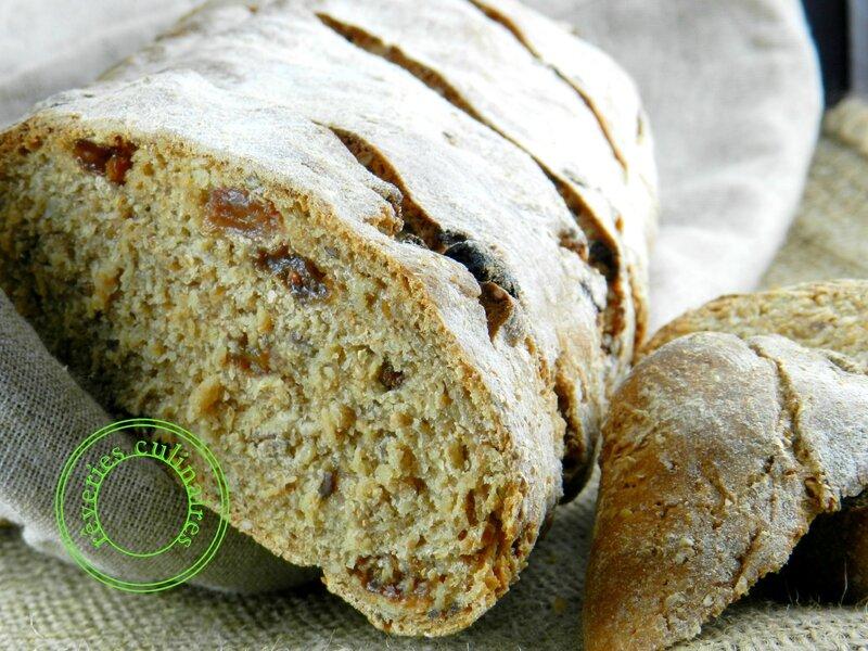 pain multicéréales aux raisins 4