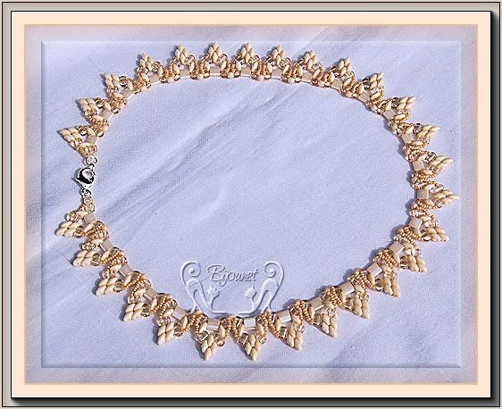 collier Heol champagne 1