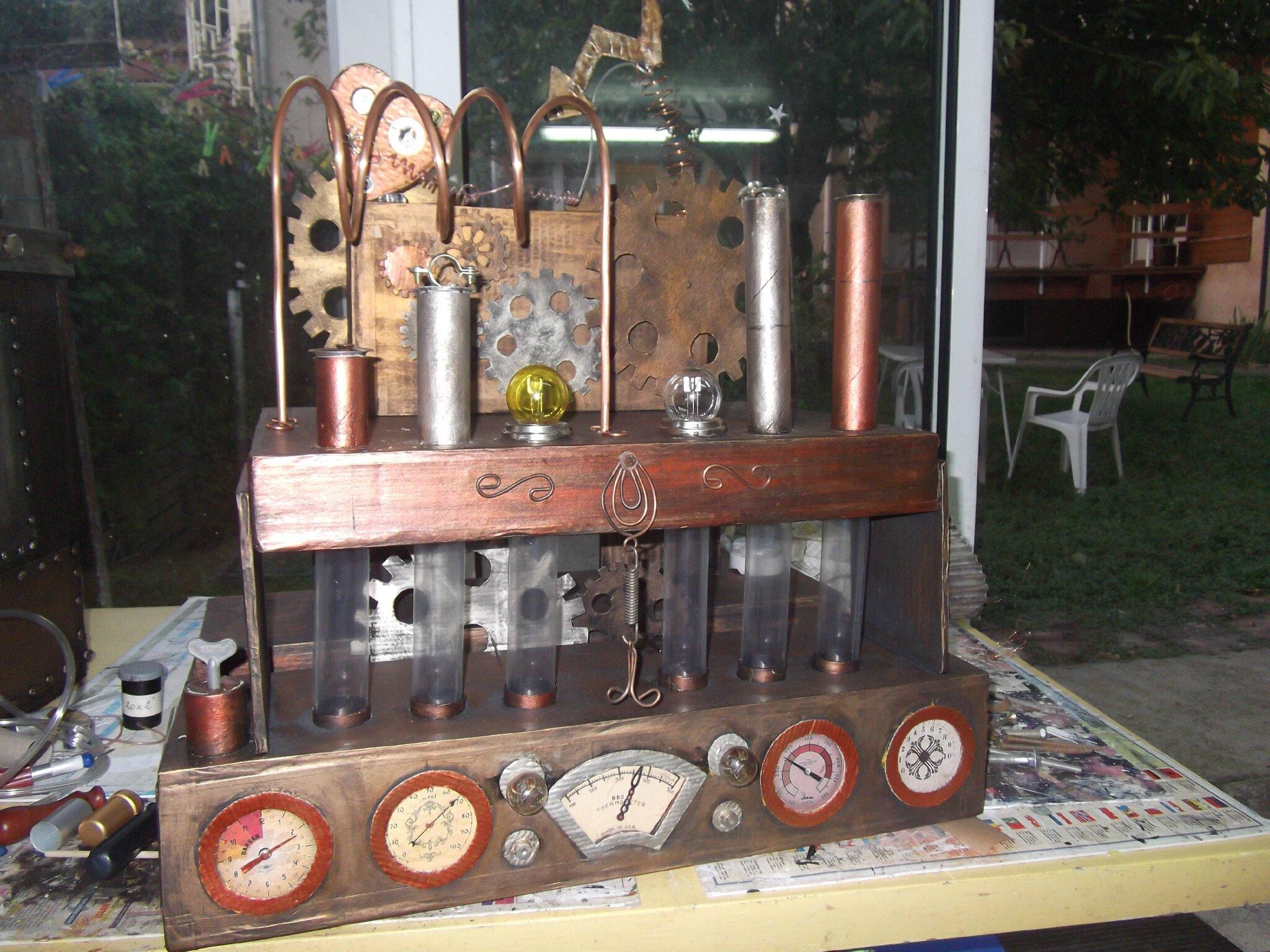 mariage d co steampunk le blog de matsa carton d co. Black Bedroom Furniture Sets. Home Design Ideas