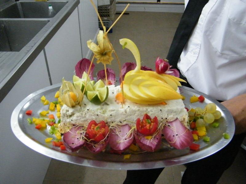 D coration de terrine de poisson photo de buffet de mariage gregory delory - Decoration de buffet ...