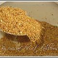 Dry rub ou marinade sèche