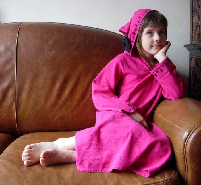 Chemise de nuit à la marocaine - Rue de la Laine, le blog