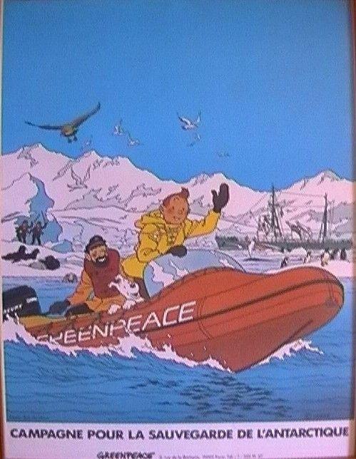Affiche Greenpeace (Années 80)