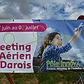 Meeting Aérien à Darois en Côte d'Or du 27.06 au 02.07.2016