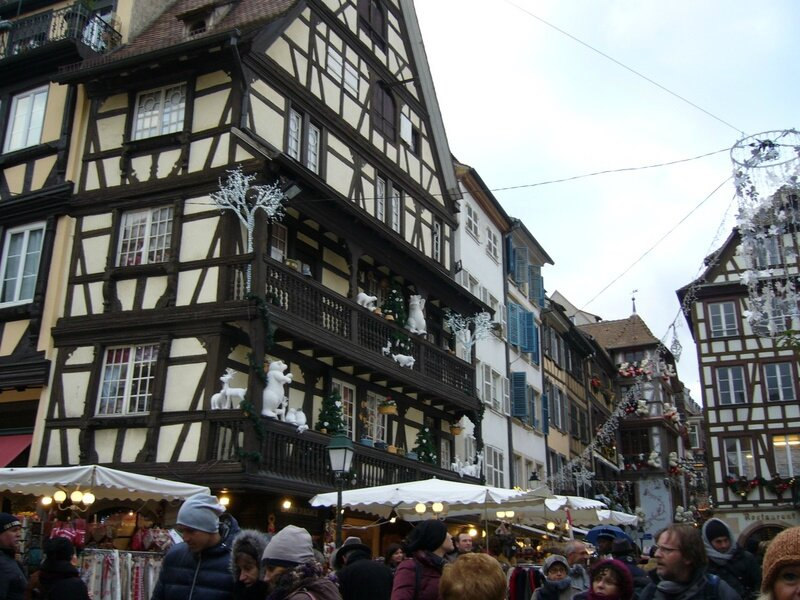 Strasbourg 042 marché de Noël Vieille rue