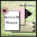 Sketch carte Marsup 26