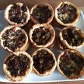 Mini-quiches provenales