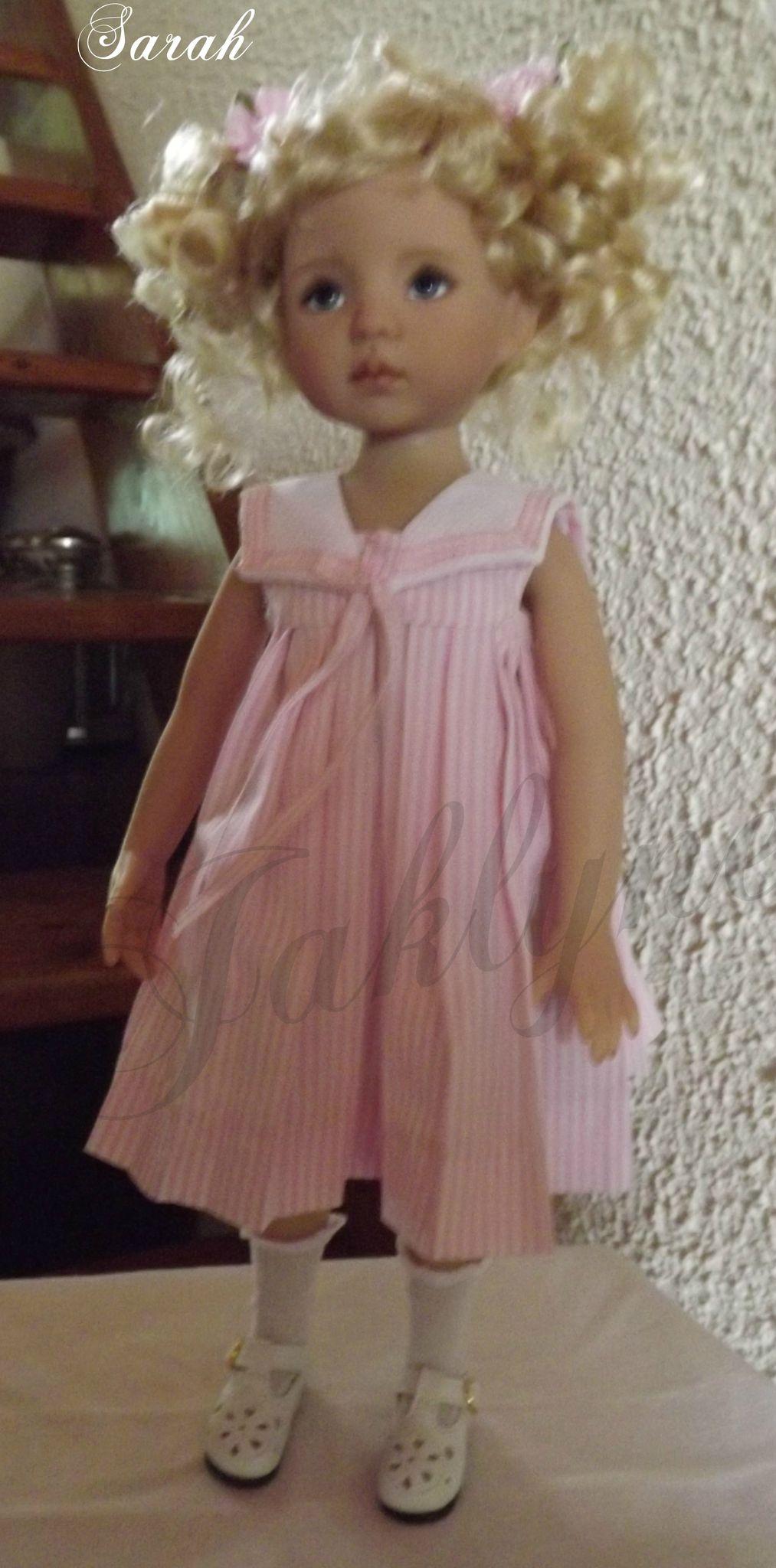 Ma petite Sarah, douce et rose ,