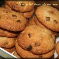 P'tits cookies au sirop d'rable, noix de pcan et chocolat au lait